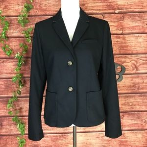 GAP Academy Blazer Jacket 10 Navy Preppy